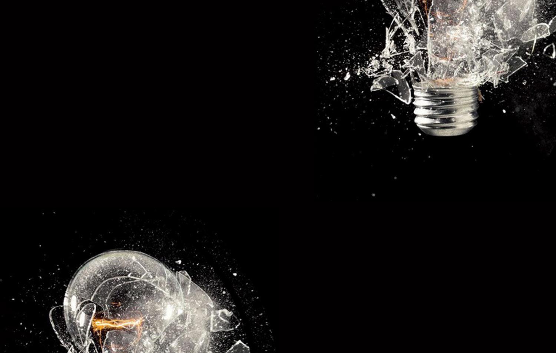 Lightbulb Exploding